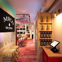 Кафе домашней кавказской кухни ОДЖАХ Екатеринбург Dulisov design студия интерьер cafe restaurant interior домашний очаг