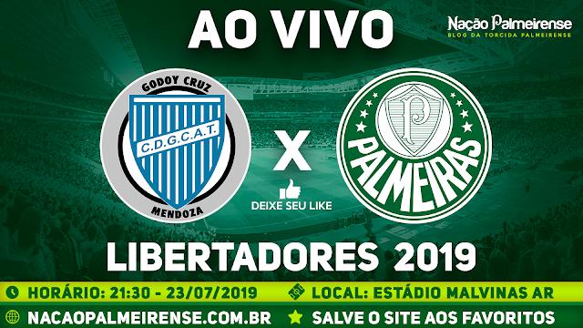 Assistir Godoy Cruz x Palmeiras Ao Vivo