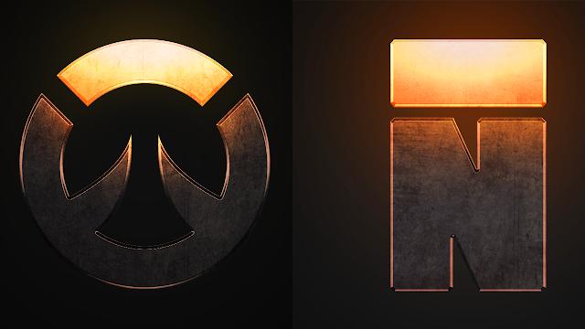 تصميم شعار على برنامج الفوتوشوب و هدية رائعة في الفيديو  Photoshop Logo Design
