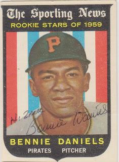1959 Topps, Bennie Daniels