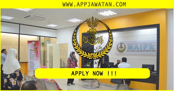Iklan Jawatan Kosong di Majlis Agama Islam dan Adat Melayu Perak (MAIAMP)
