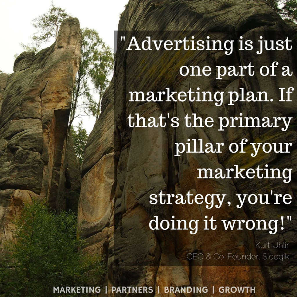 Dental Marketing: Marketing Quotes - Advertising is just one