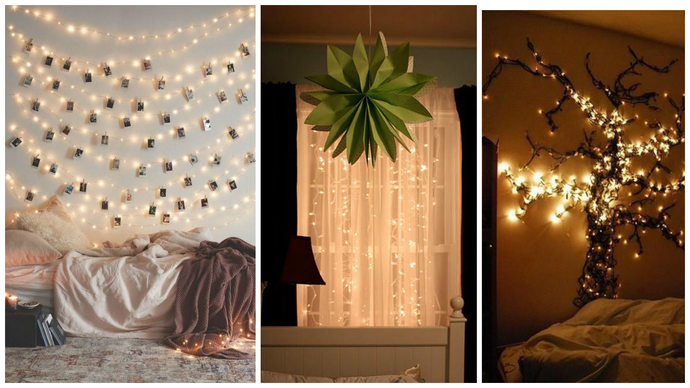 Ideas Para Decoraciones Navideñas Ideas Para Decorar Una Habitación Con Luces Navideñas Mimundomanual