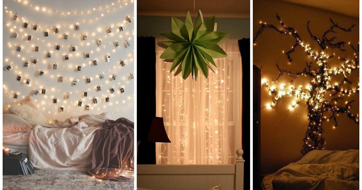 Ideas para decorar una habitaci n con luces navide as - Ideas para decorar la habitacion ...