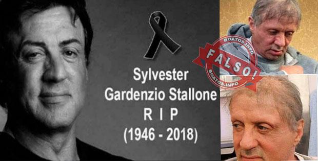 Sylvester Stallone morreu de câncer na próstata – Boato Falso