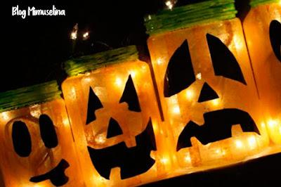 porta velas manualidades niños halloween especial mimuselina blog