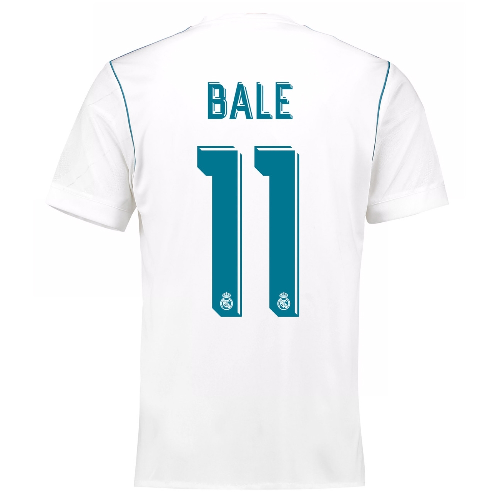 Real Madrid Font 2017-2018 Free Download - Jersey Font number