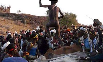 Suku Hamar - Lompat Sapi