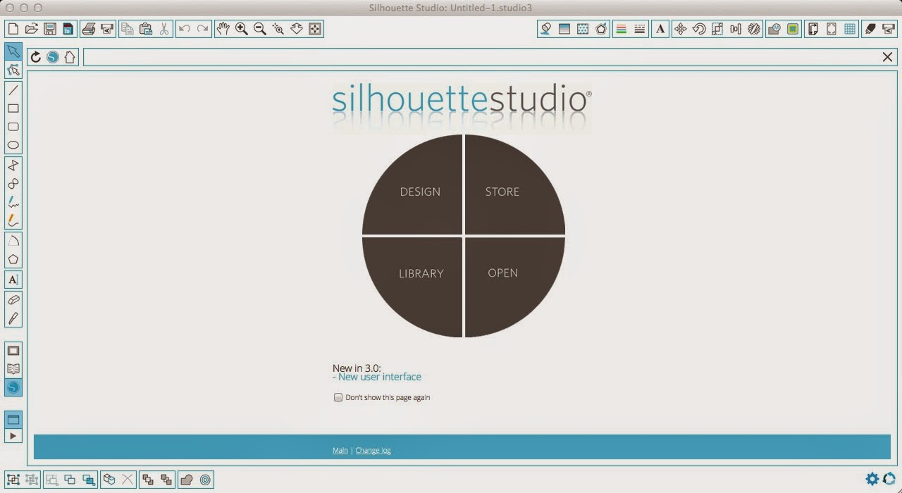 Silhouette Studio, V3, tips, newbies, new, welcome screen