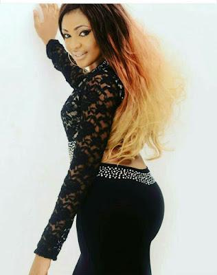 I want a man richer than Otedola- Actress, Blessing Ofoegbu, begs