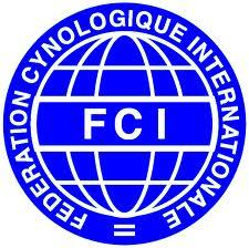 Logo FCI Federación Cinologica Internacional