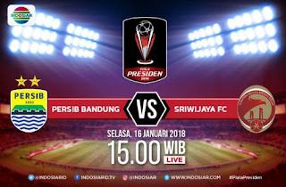 Siaran Langsung Persib vs Sriwijaya FC