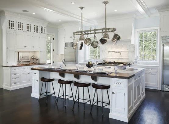 Memang Teringin Sangat Nak Dapur Luas Macam Ni Siap Ada Kitchen Island Besar Kat Bawah Tu Boleh Letak Pinggan Mangkuk Dan Bersarapan