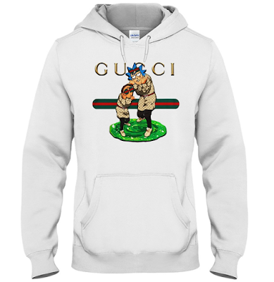 Rick and Morty Gucci Gang T Shirt Hoodie Sweater and Sweatshirt