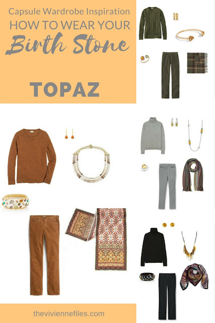 November's Birthstone is Topaz, or Citrine... Some Ideas!