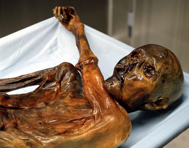 kutukan mummi Oetzi yang membawa petaka