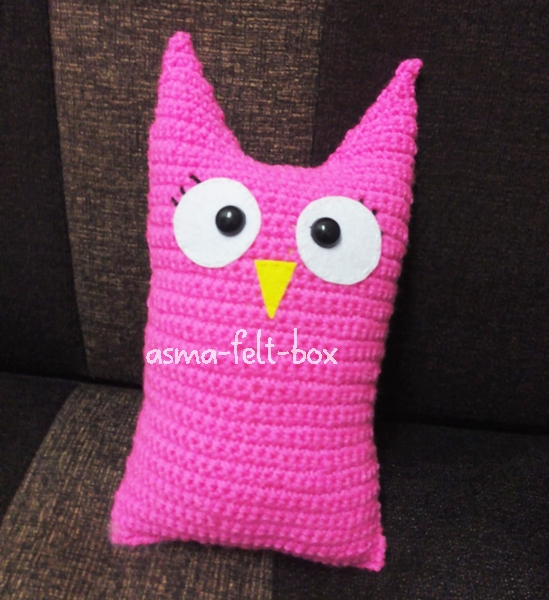 Crochet Pattern : Owl Plush