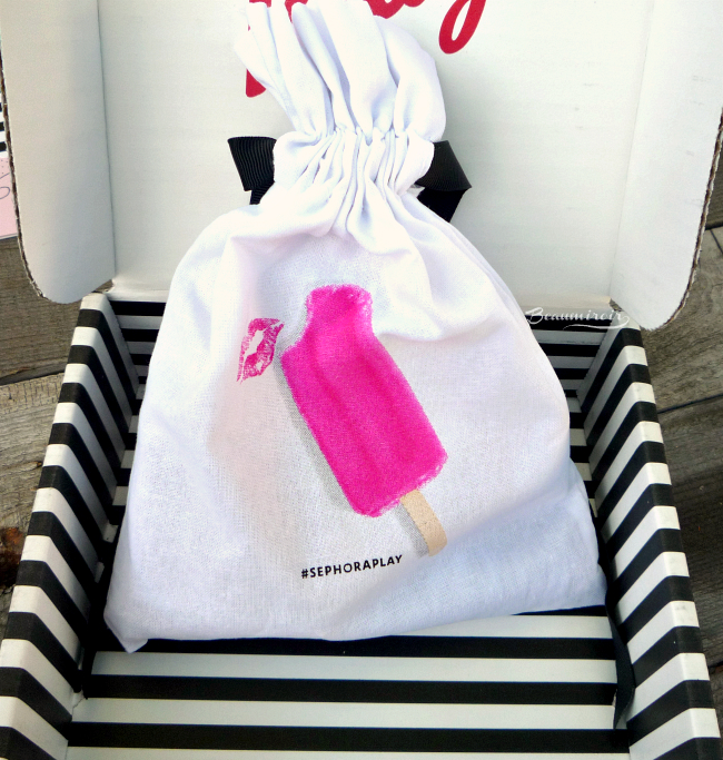 inside the Sephora Play! July 2016 beauty subscription box!