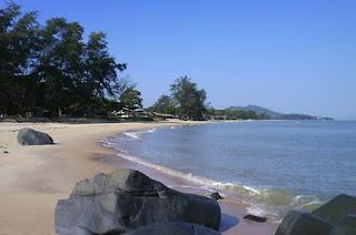 Pantai Pasir Panjang Singkawang Kalimantan Barat