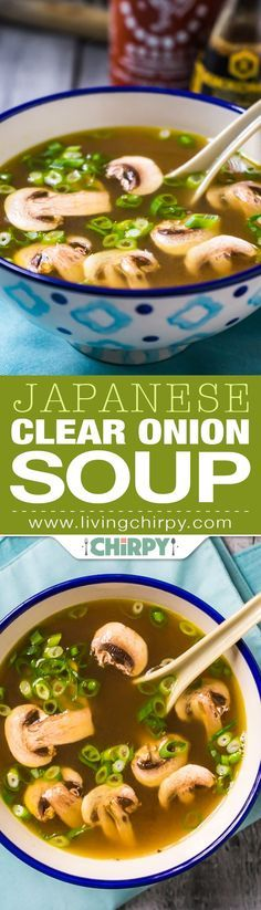 ★★★★☆ 7561 ratings | Japanese Clear Onion Soup #HEALTHYFOOD #EASYRECIPES #DINNER #LAUCH #DELICIOUS #EASY #HOLIDAYS #RECIPE #Japanese #Clear #Onion #Soup