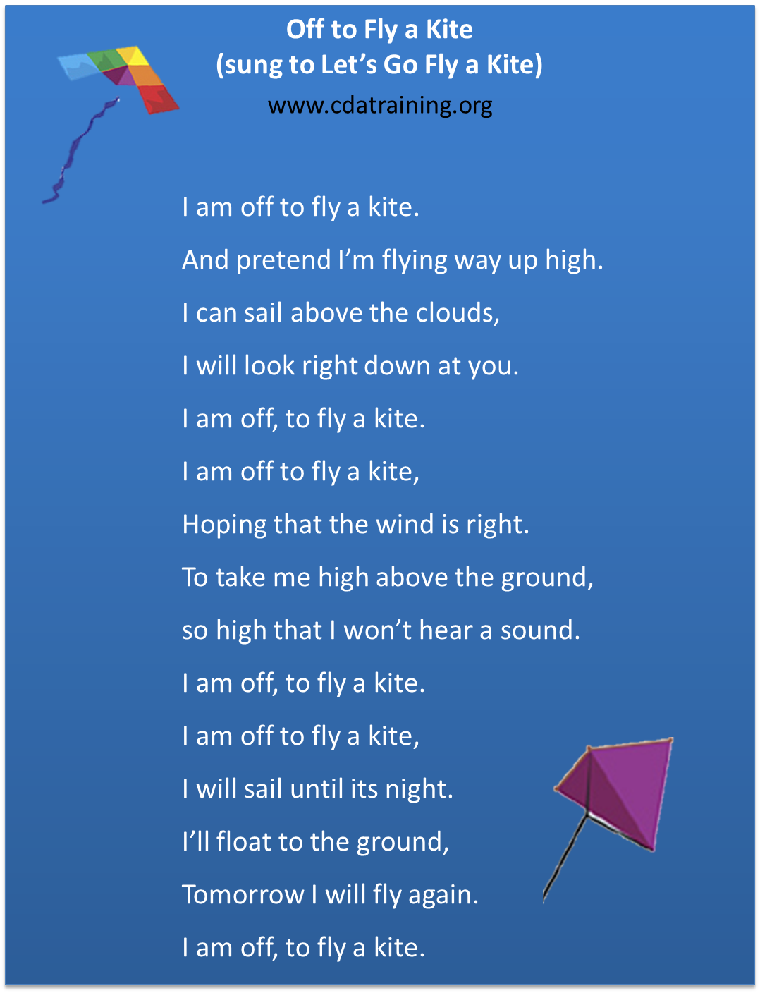 Rhyming Quotes About Kites Quotesgram