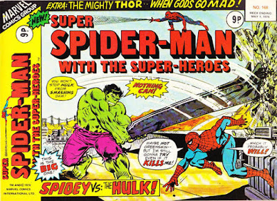 Super Spider-Man with the Super-Heroes #168, the Hulk