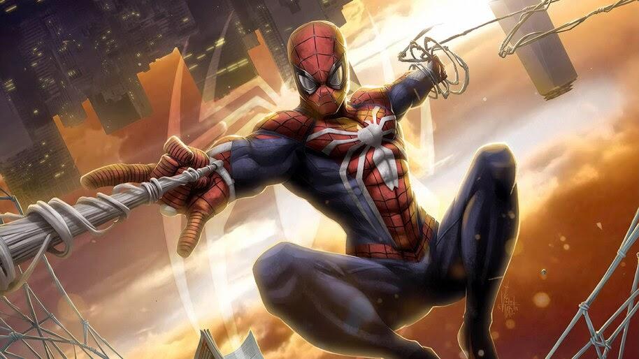 Spider-Man Web Shoot, Marvel, 4K, #6.1137