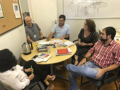 CEDES e DEGEO discutem parceria em projeto de P&D na Elevação do Rio Grande