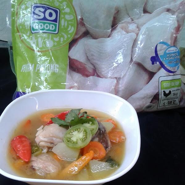 Sop Asam Pedas Ayam So Good