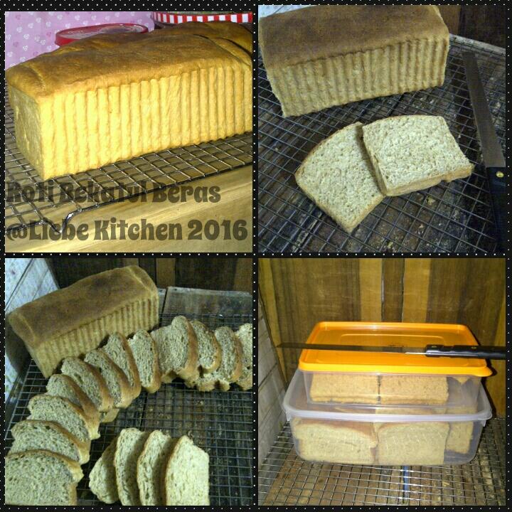 Roti Bekatul Beras Uenake Com Resep Ala Dapur Mama Azka