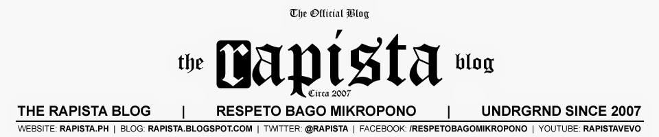 Rapista | The Rapista Blog | www.rapista.blogspot.com