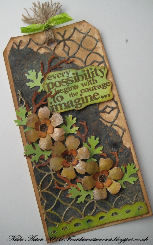 Addicted to Art - Tim Holtz Punches