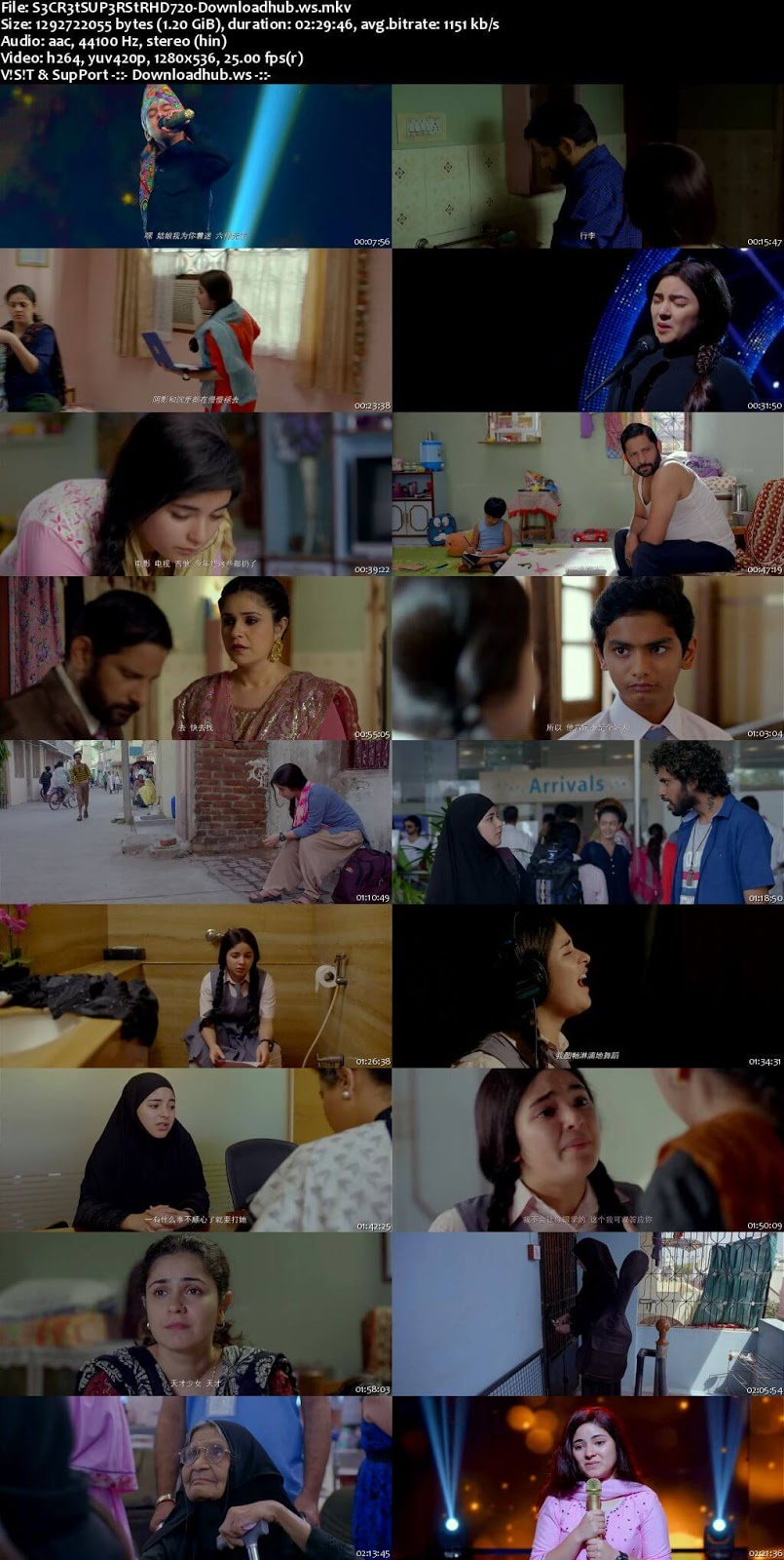 Secret Superstar 2017 Hindi 720p HDRip