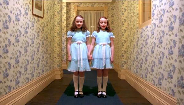Las gemelas de 'El Resplandor'