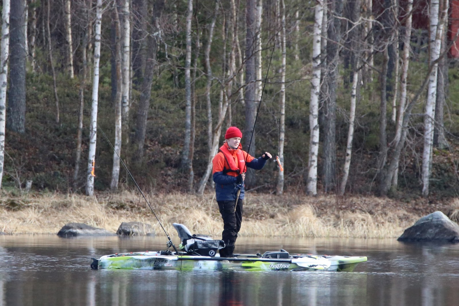 Rent cottage glamping fishing in finland birdwatching for Fish rock rentals