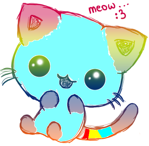 Imagenes de gatitos kawaii anime - Imágenes de Amor ...