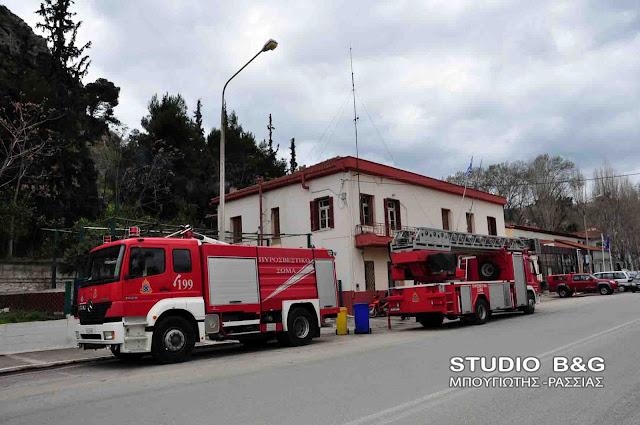 Απάντηση Γεροβασίλη σε Ανδριανό για τα αναγκαία έργα στο κτίριο της πυροσβεστικής υπηρεσίας Ναυπλίου