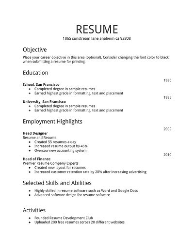 how to create an effective resume for freshers swister news