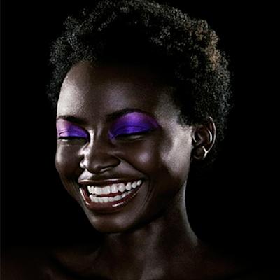 Foto 12 maquiagem lilas pele negra