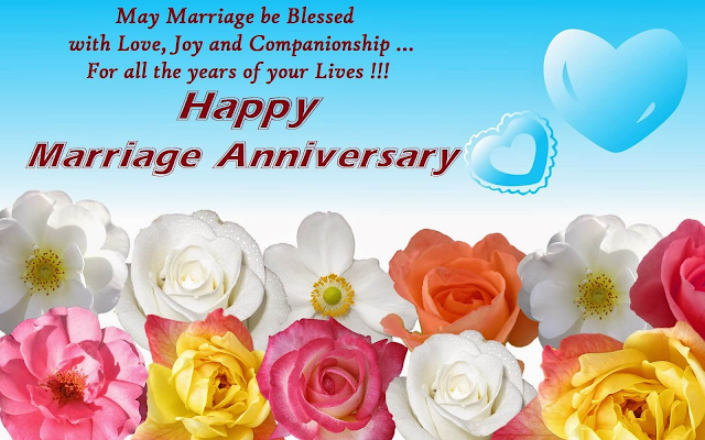 Happy Wedding Anniversary Wishes Greeting Cards For Husband Wife