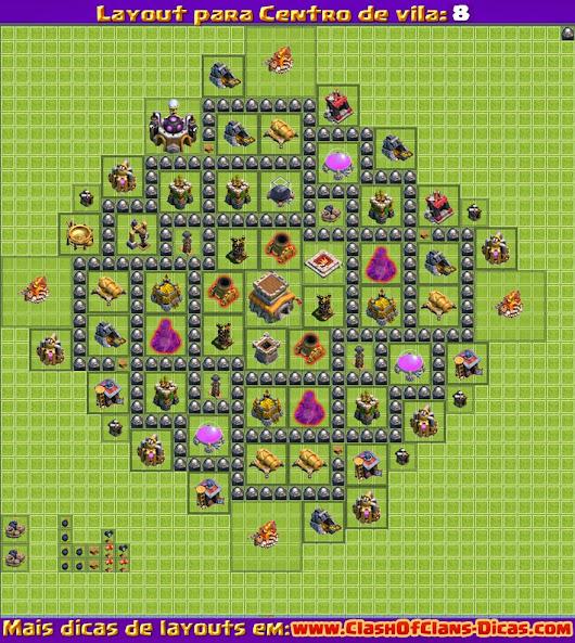 layout cv 8