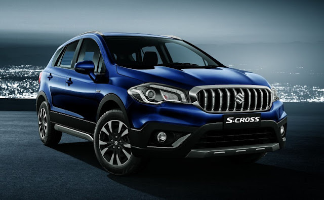 S-Cross Facelift 2017