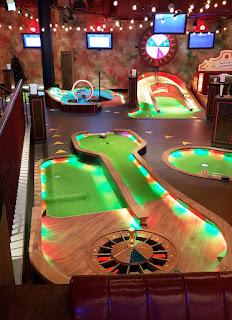 Puttshack indoor minigolf at Westfield London