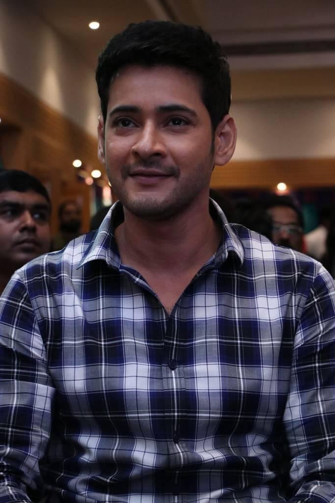 Mahesh Babu At Spyder Movie Press Meet In Chennai Pics