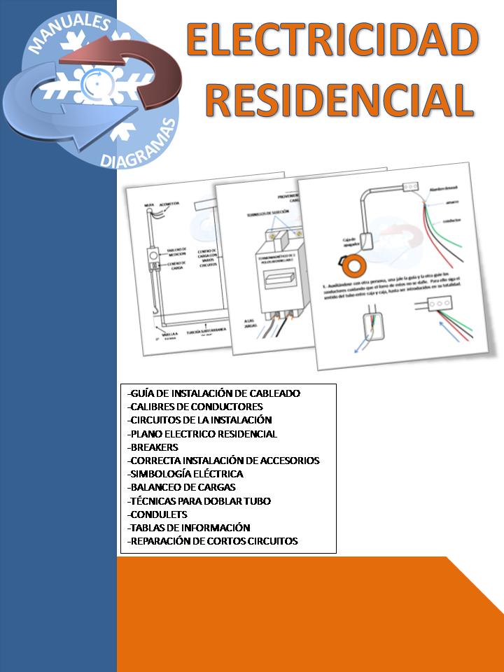 Manuales y diagramas manual de electricidad residencial for El gran manual del cocinero pdf