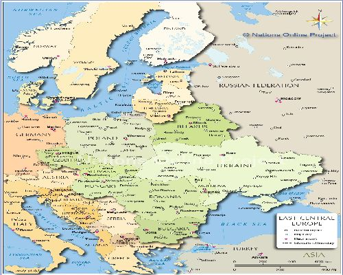 Central Europe Political Map.Central Europe Political Map Usa Map 2018