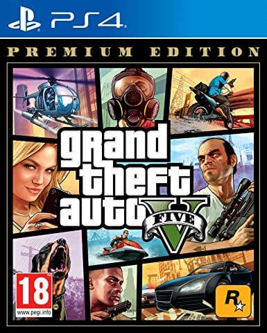 Grand Theft Auto V – Premium ps4 cover