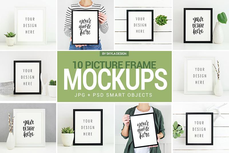 Poster & Picture frame mockups