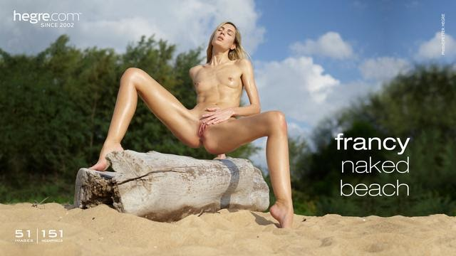 [Hegre-Art] Francy - Naked Beach