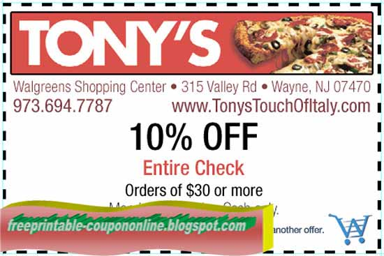 Papa ginos coupon codes